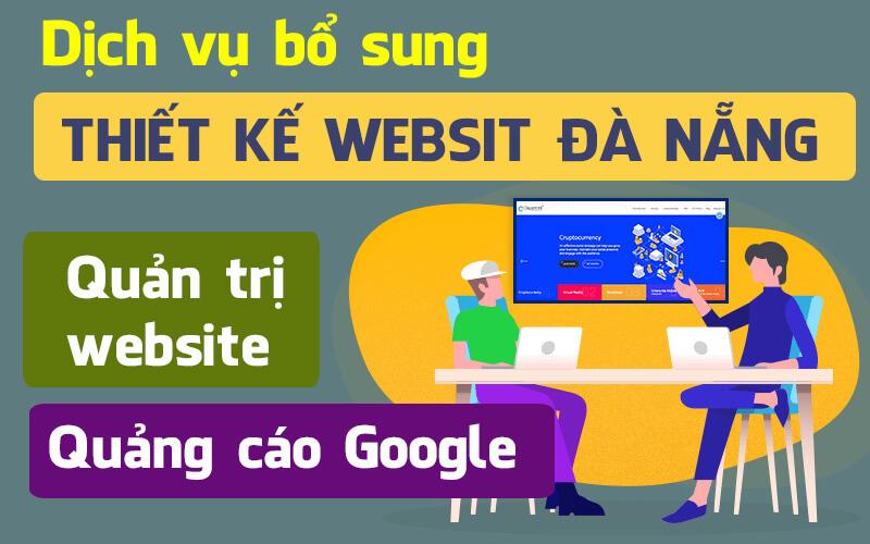 Dịch vụ bổ sung thiết kế website