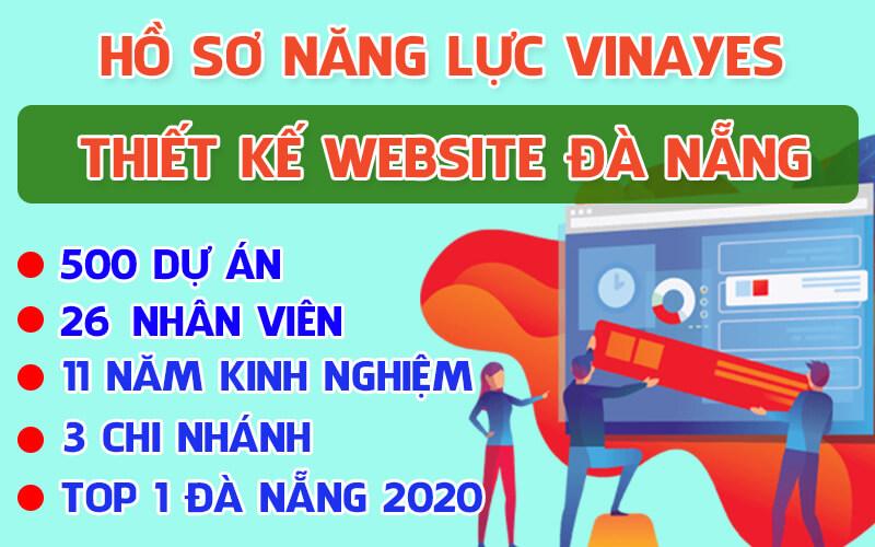 Hồ sơ năng lực thiết kế website đà nẵng