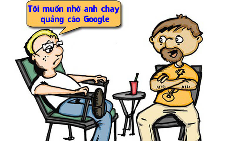 Muốn quảng cáo Google thì bắt buộc phải có Website