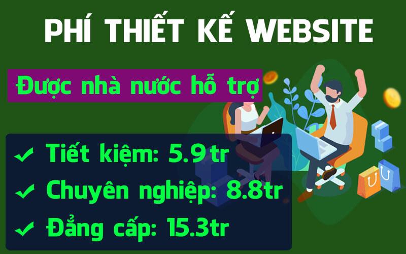 Phí thiết kế website tại Thiết kế Website Đà Nẵng