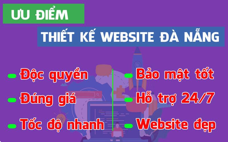 Ưu điểm thiết kế website đà nẵng